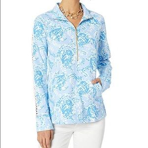 NWT Lilly Pulitzer Turtley Awesome Pullover